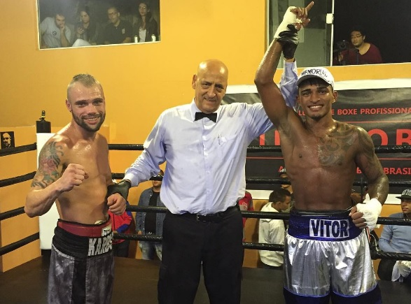 "Vitor Jones Freitas vence Rodolfo Franz no ""Clube do Boxe"""